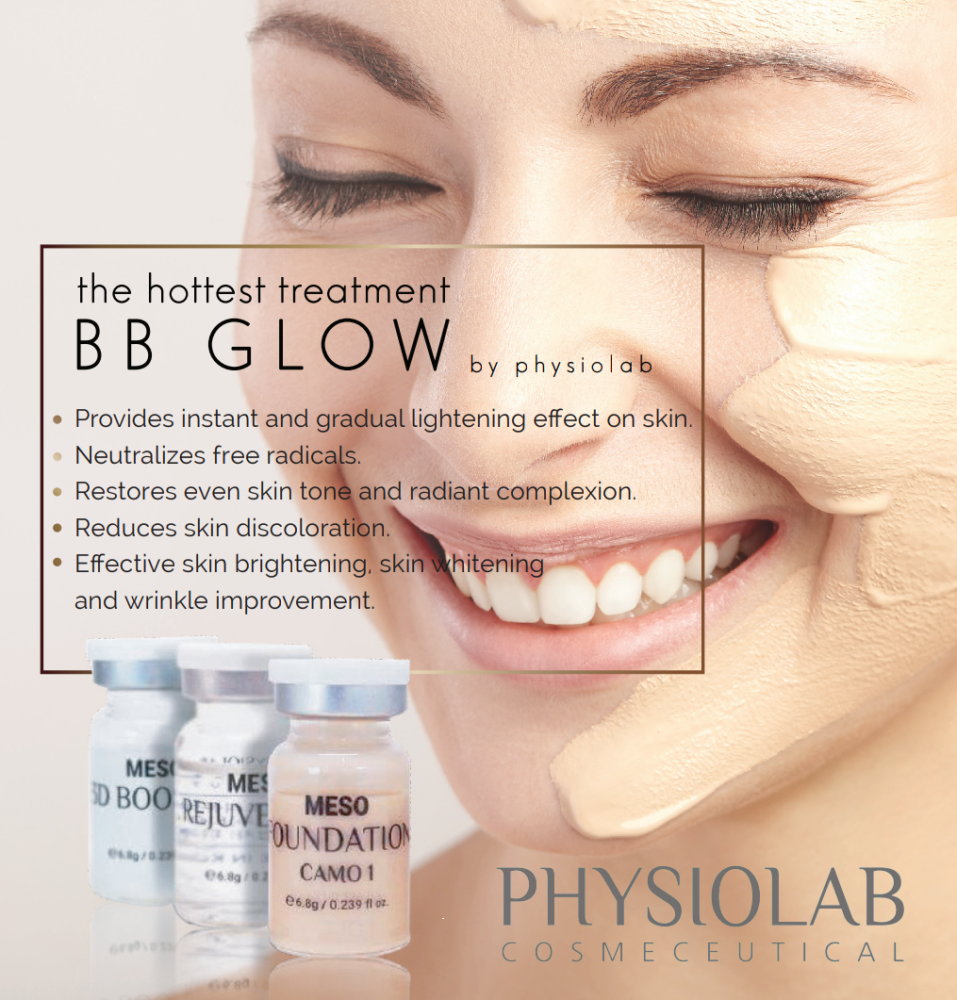 BB skin glow treatment Bournemouth UK